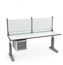 Стол монтажный  СР-200-02 ESD + Экран ВС-200-Э1 ESD