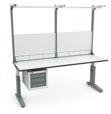 Стол монтажный  СР-200-02 ESD + Экран ВС-200-Э3 ESD