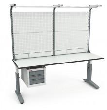 Стол монтажный  СР-200-02 ESD + Экран ВС-200-Э4 ESD